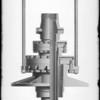 High pressure casing head, Southern California, 1930