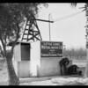 Pomona Pumps, Pomona Manufacturing Company, Southern California, 1925