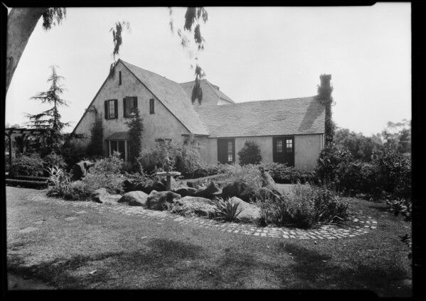 House at 12775 Beverly Drive, Southern California, 1929