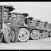 Belvedere Gardens Bus Line, Southern California, 1931