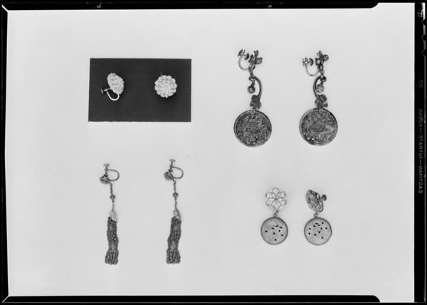 Costume jewelry etc., Southern California, 1930