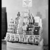 Cookie display, Southern California, 1930