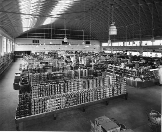 Inside a grocery