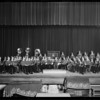 Boys band at Poly High School, Southern California, 1931