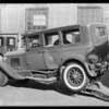 Cadillac sedan, Wilshire Oil Co. assured, Southern California, 1931