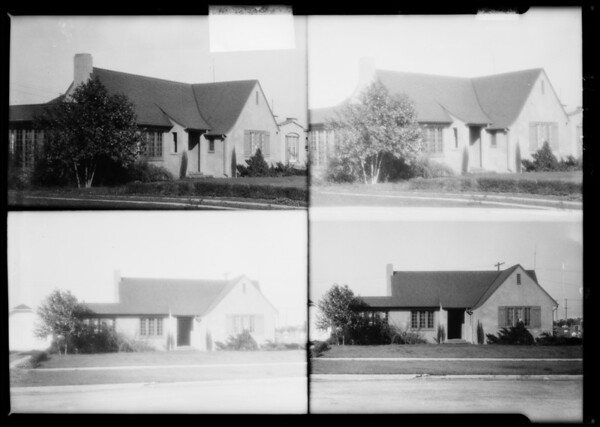 Residence at 6th Park Street, Albright City-Palms, Southern California, 1925
