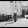 Mr. Brown & full line, 4982 Hollywood Boulevard, Los Angeles, CA, 1931