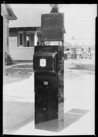 Pumping plant panel board, Southern California, 1931