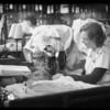 Scenes in laundry, Home Service Corporation, Southern California, 1931