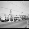 Opening of Homecroft Market, West Gage Avenue and South Vermont Avenue, Los Angeles, CA, 1930