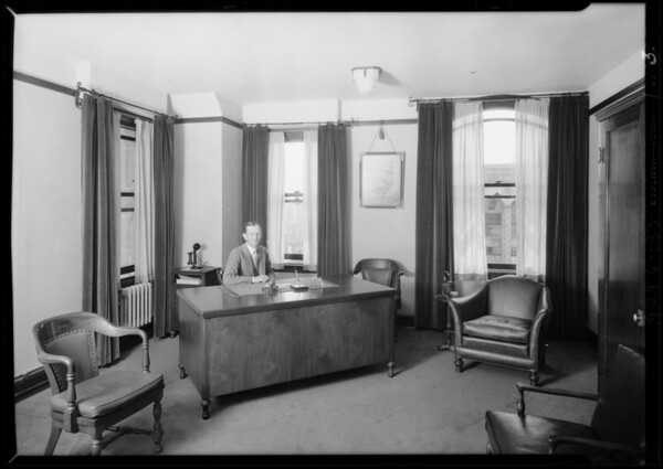 Home Fire Insurance Co., 13th floor, Foreman Building, Southern California, 1929