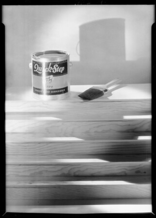 Quick-Step paint can, Southern California, 1929
