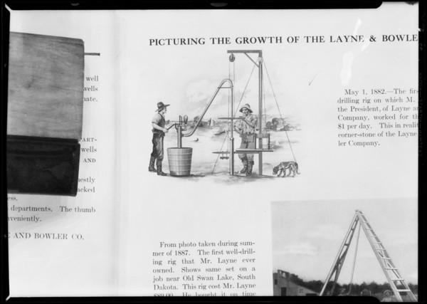 Sketch in book, Southern California, 1931