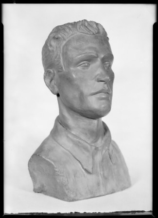 Busts for exhibit, Southern California, 1931