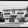 Apartment house, 1636 South Gramercy Place, Los Angeles, CA, 1929