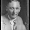 Portrait of Mr. Maddux, Southern California, 1930