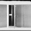 Steel cabinet, J. L. Davidson Co., Southern California, 1931
