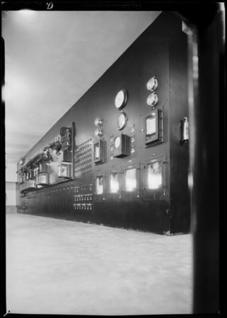 Main switchboard, Edison Electric, Southern California, 1931