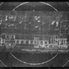 Blueprint of coach, Southern California, 1930