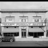 Store building on Western Avenue, auction studio, 630 North Western Avenue, Los Angeles, CA, 1929