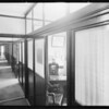 Interiors of offices, Pacific Coast Proctological Laboratories, Southern California, 1931