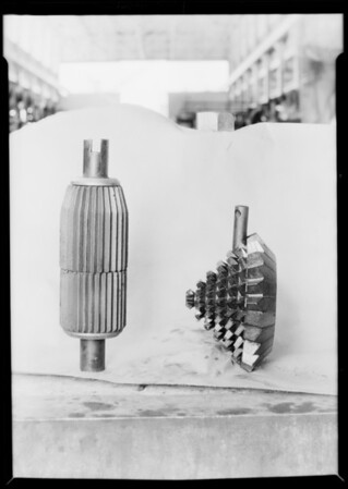 Reamer & cone, Southern California, 1929