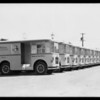 New delivery cars, Helms Bakeries, Southern California, 1931