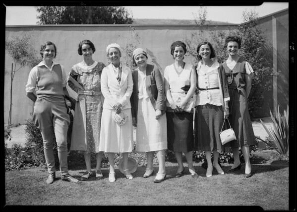 Aviation groups, Southern California, 1931