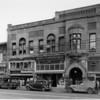 Civic Center Barber Shop, Kaufman Mercantile Company, United Market, Eagle Loan Service, Favretto Studio Portrait Artist, Dr. Robinson - Dentist