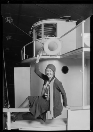 Publicity with Estelle Etterre, Dorothy Dix, Southern California, 1930