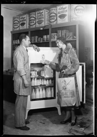 Zahn's Market, Manhattan Beach, CA, 1931