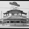 P.K. Sandwich stand, West Vernon Avenue and Crenshaw Boulevard, Los Angeles, CA, 1930