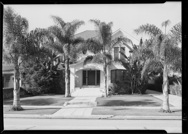 239 South Lucerne Boulevard, Los Angeles, CA, 1930
