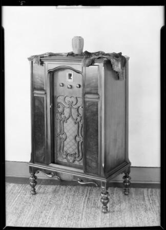 Radios, C. W. Smith Inc., Southern California, 1929