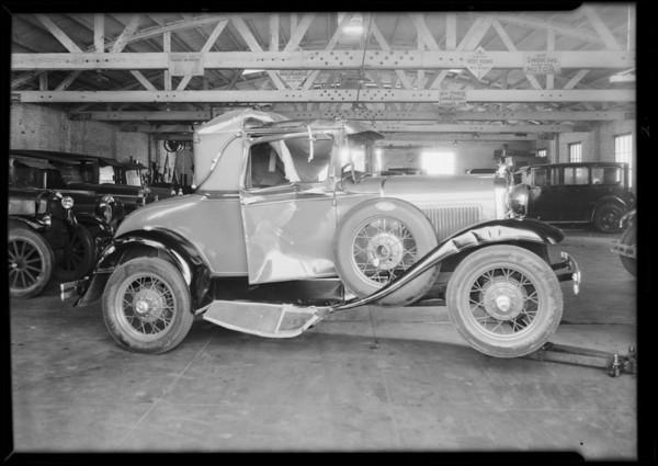 Intersection, Eastlake Avenue & Manitou Avenue, Southern California, 1931