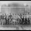 Salesmen group at Figueroa Hotel, Los Angeles, CA, 1930