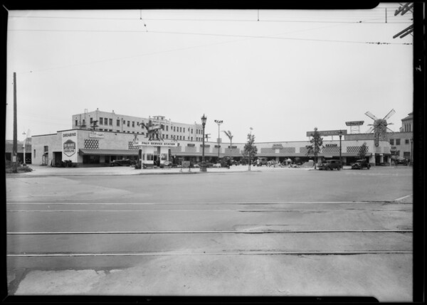 Markets for man in Florida, Mission Dry, Southern California, 1930