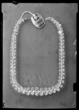 Necklace, Broadway Department Store, Southern California, 1931