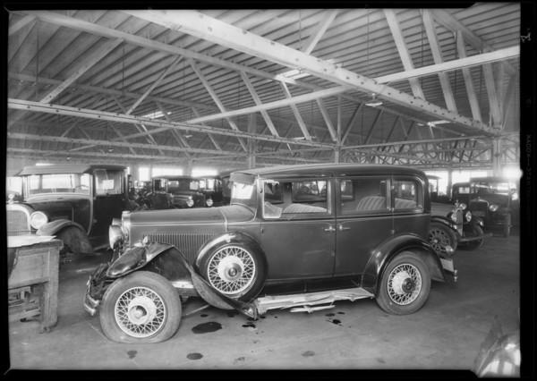 Nash sedan, S. Topoliski, owner, Southern California, 1931