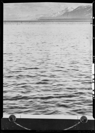 Body of water, Pomona Pump, Southern California, 1931