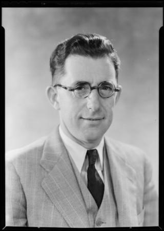 Mr. Barnard 'himself', Southern California, 1930
