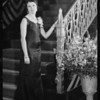 Singer for Wilshire Theatre, 8440 Wilshire Boulevard, Beverly Hills, CA, 1931