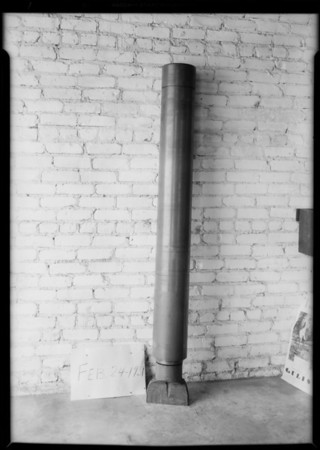 Drilling tool at 709 East 61st Street, Los Angeles, CA, 1931