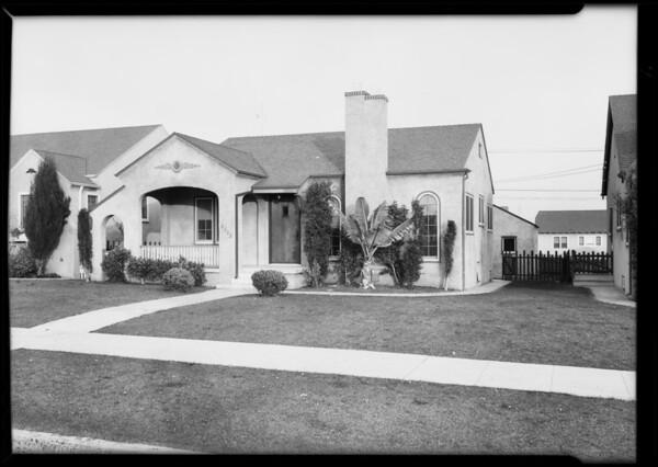 6102 & 6018 Alviso Avenue, Los Angeles, CA, 1930