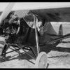 Mr. Walt in plane, Southern California, 1931