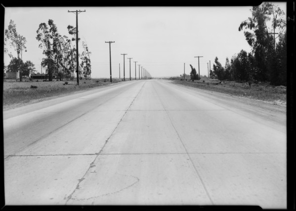 Intersection at South Broadway and West Rosecrans Avenue, West Rancho Dominguez, CA, 1931