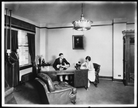 Retouched photos, Stock & Realty Assurance Corporation, Southern California, 1929