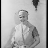 Mrs. B. Frances Hoosfall, 6230 Afton Place, Los Angeles, CA, 1931