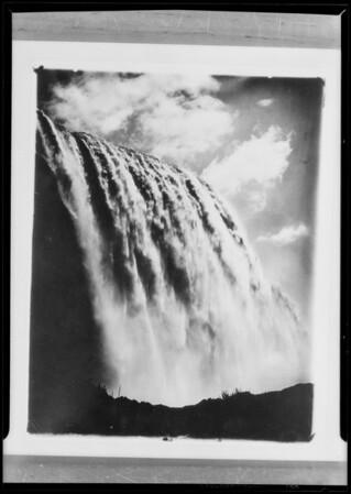 Niagara Falls, Pomona Pump, Southern California, 1930