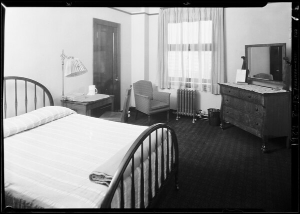 Interiors, Hotel Trinity, Southern California, 1929